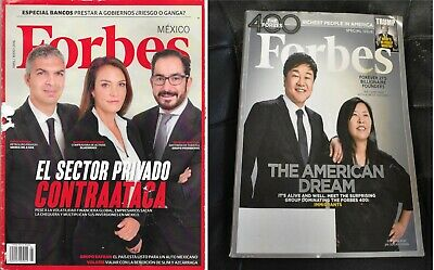 Forbes México apr/may 2016 (español) & 400 Richest People in America Oct 25 2016