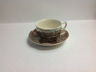 Tea Coffee Cup & Saucer Johnson Brothers China Olde English Countryside