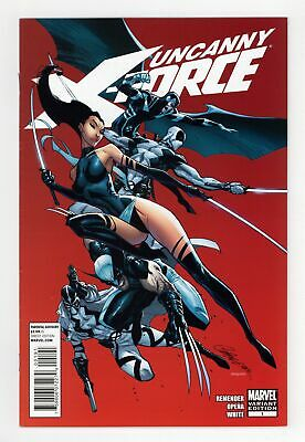 Uncanny X-Force 1F Campbell Variant VF 8.0 2010