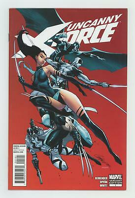 Uncanny X-Force 1F Campbell Variant VF- 7.5 2010