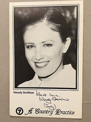 Tv Fan Card Channel 7 A Country Practice Wendy Strehlow Free Postage