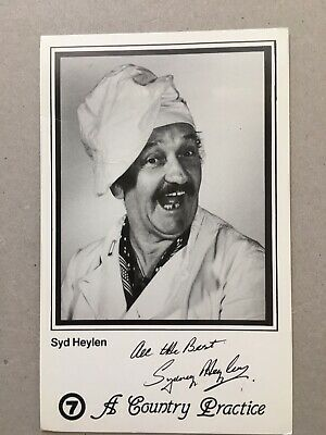 Tv Fan Card Channel 7 A Country Practice Syd Heylen Free Postage