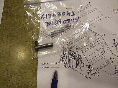 Ultima 65-1 GBC4265 Roller Cover Support Spring Pin Laminator 613030612 70109084