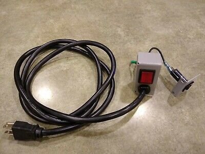 Ultima 65-1 Laminator Power cord switch and circuit breaker assembly