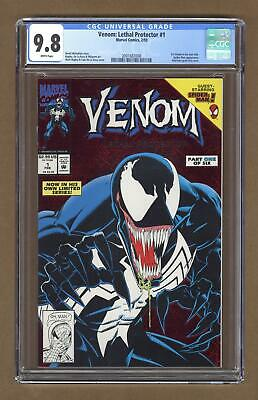Venom Lethal Protector 1A Red Foil Variant CGC 9.8 1993 2001682008