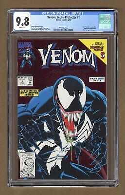 Venom Lethal Protector 1A Red Foil Variant CGC 9.8 1993 2001682022
