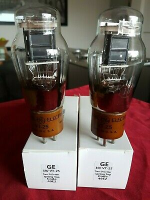 Ge Vt-25 Nos...matched Pair....made By Sylvania..