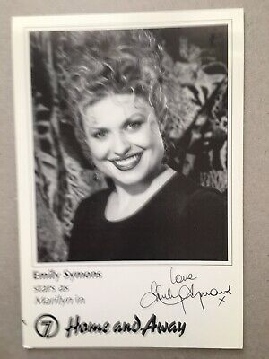 Tv Fan Card Home And Away Emily Symons Free Postage