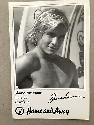Tv Fan Card Home And Away Shane Ammann Free Postage