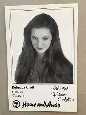 Tv Fan Card Home And Away Rebecca Croft Free Postage