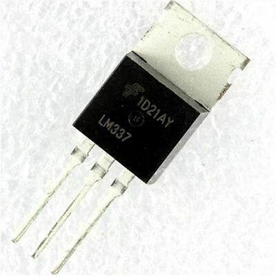 x5 LM337 FAIRCHILD Negative Adjustable Regulator IC