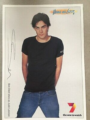 Tv Fan Card Home And Away Ben Steel Free Postage