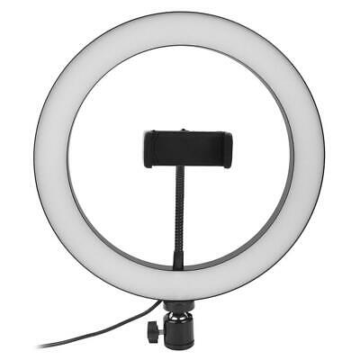 #QZO 10 inch LED Ring Light Dimmable Beauty Adjustable 3 Lights Color Fill Light