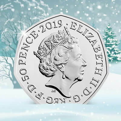 *PRE ORDER**2019..The Snowman returns! Second UK 50p to be released...SEE NOTES