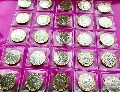 2019 Isle Of Man Steve Hislop £2 Coin BUNC 25 coins in total
