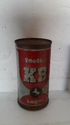 Tooths KB Lager 13 1/3 Fl Oz Flat Top Beer Can