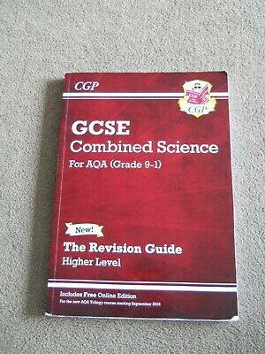 CPG Higher Level Revision Guide GCSE Combined Science for AQA Grade 9-1