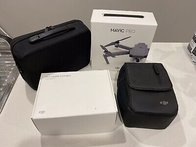 DJI Mavic Pro 'Fly More' Combo/Bundle Package. AS NEW - Immaculate Condition!
