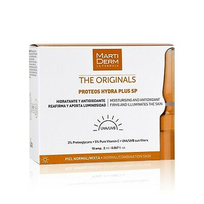 MartiDerm The Originals Proteos Hydra Plus SP. 10 ampoules Anti-aging Firming