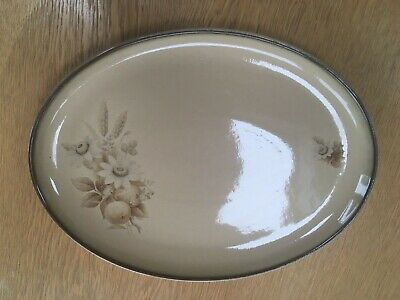 Denby Memories Oval Serving Platter