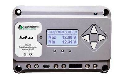 Morningstar EcoPulse 10A Solar Charge Controller with Display Meter