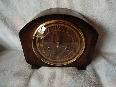 Vintage,,Smiths Chiming Mantle Clock,Comes With A Smiths Key,Good Working Order,