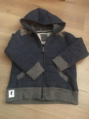 Boys Quilted Hooded Top From Next Age 4