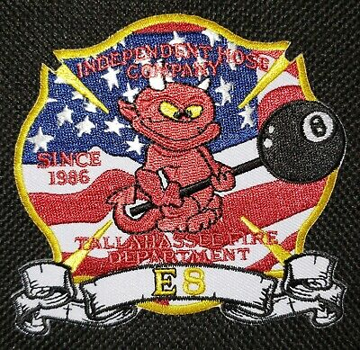 Florida - Tallahassee Fire Department Engine 8 Independent Hose Company Patch FL
