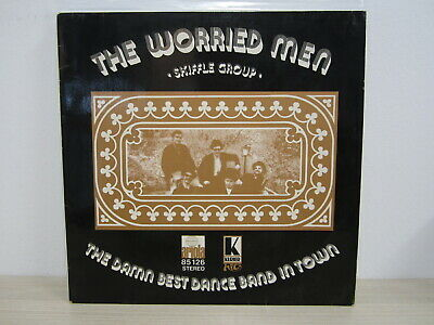 LP /  The Worried Men Skiffle Group ‎– The Damn Best Dance Band In Town / RAR /