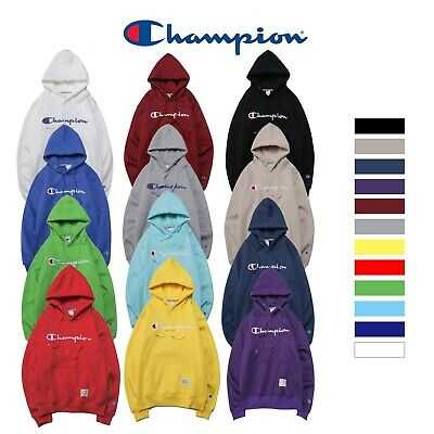 NWT Women's Men's Classic Champion Hoodies Embroidered Hooded Sweatshirts