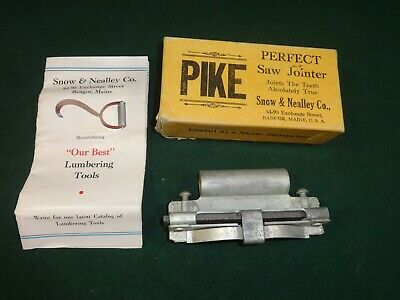 Vintage Snow & Nealley Pike Perfect Saw Jointer