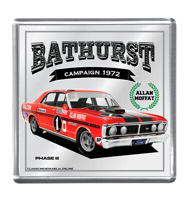 Drink Coaster Mirrored - Suit Moffat Xy Gt Ho Bathurst 1972 Others Available