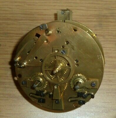 French Japy Freres striking clock movement