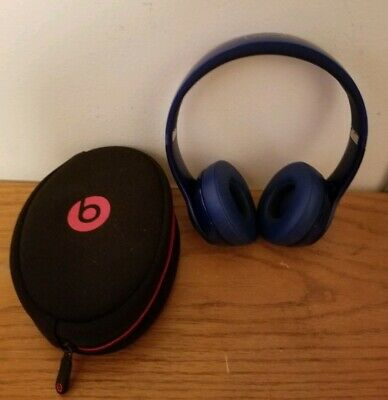 Beats By Dr Dre Solo With Carrying Case
