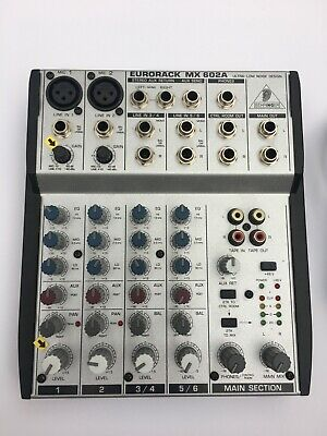 Behringer Eurorack Mixer - MX602A - Power supply - Excellent Condition