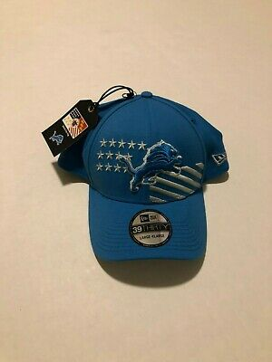 Detroit Lions New Era 2019 NFL Draft On-Stage 39THIRTY Flex Hat L/XL