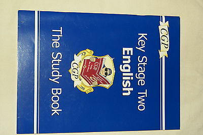 CGP Key Stage Two English - The Study Book Very Good Condition