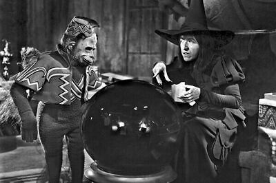 """New 4x6 Photo: Wicked Witch of the West and Flying Monkey in """"The Wizard of Oz"""""""