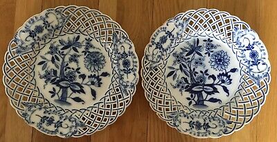 Antique Plates. Hand Painted 1880 AMS For Wedgewood good condition. See details