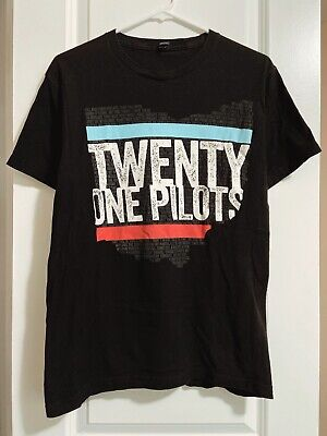 RARE Twenty One Pilots 2012 Ohio T-Shirt - Men's Medium - Regional at Best