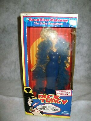 """Dick Tracy """"Breathless Mahoney"""" Sultry Songstress Doll w/ Microphone - New OB"""