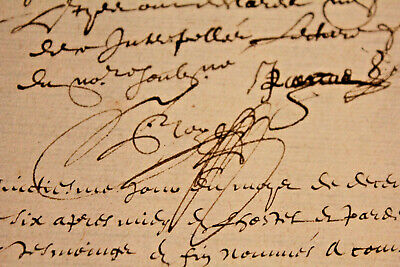 1566 Lord manuscript dot signature document AMAZING signatures oncial writting