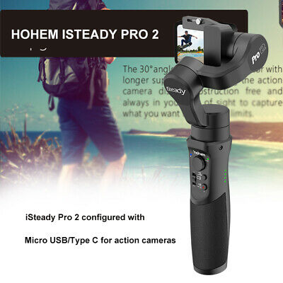 Hohem iSteady Pro 2 3-Axis Gimbal Stabilizer for YI SONY RX0 DJI Action Camera