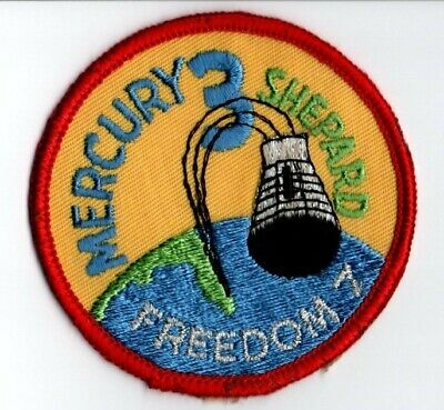 Collection Of 8 Nasa Patches - Gemini And Mercury Programs