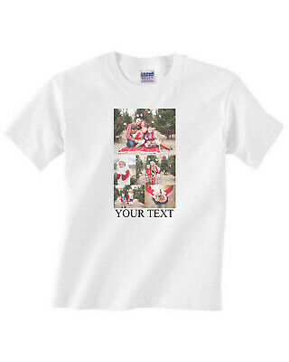 Personalised T-shirt Custom Printed Photo Image Any Text Hen Stag Party Holiday