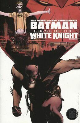 Batman Curse of the White Knight 1A Murphy Variant NM 2019 Stock Image
