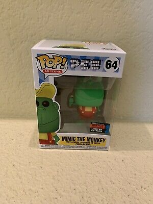 Funko Pop Mimic The Monkey PEZ 2019 NYCC Exclusive Official Sticker Vinyl Figure