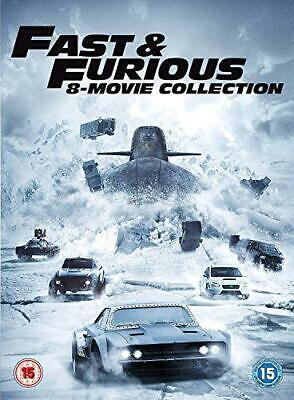 Fast & Furious 8-Film Collection Dvd + Digitale Download [2017] Nuovo Dvd