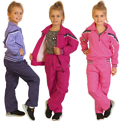 Girl Jogging Suit Children Trackies Jacket Tracksuit Baby Sports Set Trousers