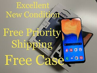 Samsung Galaxy A20 for MetroPCS Excellent w/Free Bonus*Free Priority Shipping